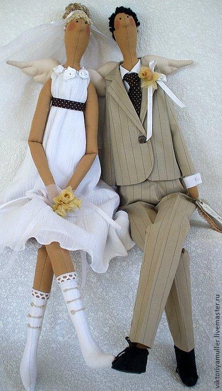 Кукла в подарок на свадьбу 801