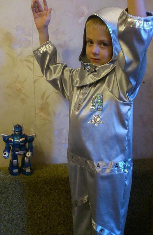 Детские карнавальные костюмы ручной работы. Ярмарка Мастеров - ручная работа. Купить Астронавт. Handmade. Серый