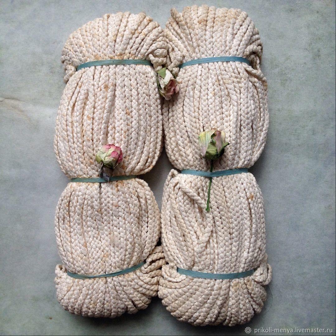 Аппликации, вставки, отделка ручной работы. Ярмарка Мастеров - ручная работа. Купить Старинный французский шнур тесьма косичка. Handmade.