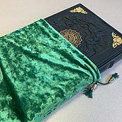 Сувениры и подарки handmade. Livemaster - original item Koran in Arabic, large (leather in a bag). Handmade.