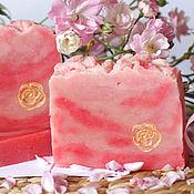 Косметика ручной работы. Ярмарка Мастеров - ручная работа Розовое дерево  Натуральное мыло  Подарок девушке. Handmade.