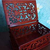 Для дома и интерьера handmade. Livemaster - original item The box is an openwork. Handmade.