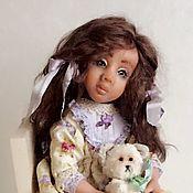"""Dolls handmade. Livemaster - original item Doll """"Dina"""". Handmade."""