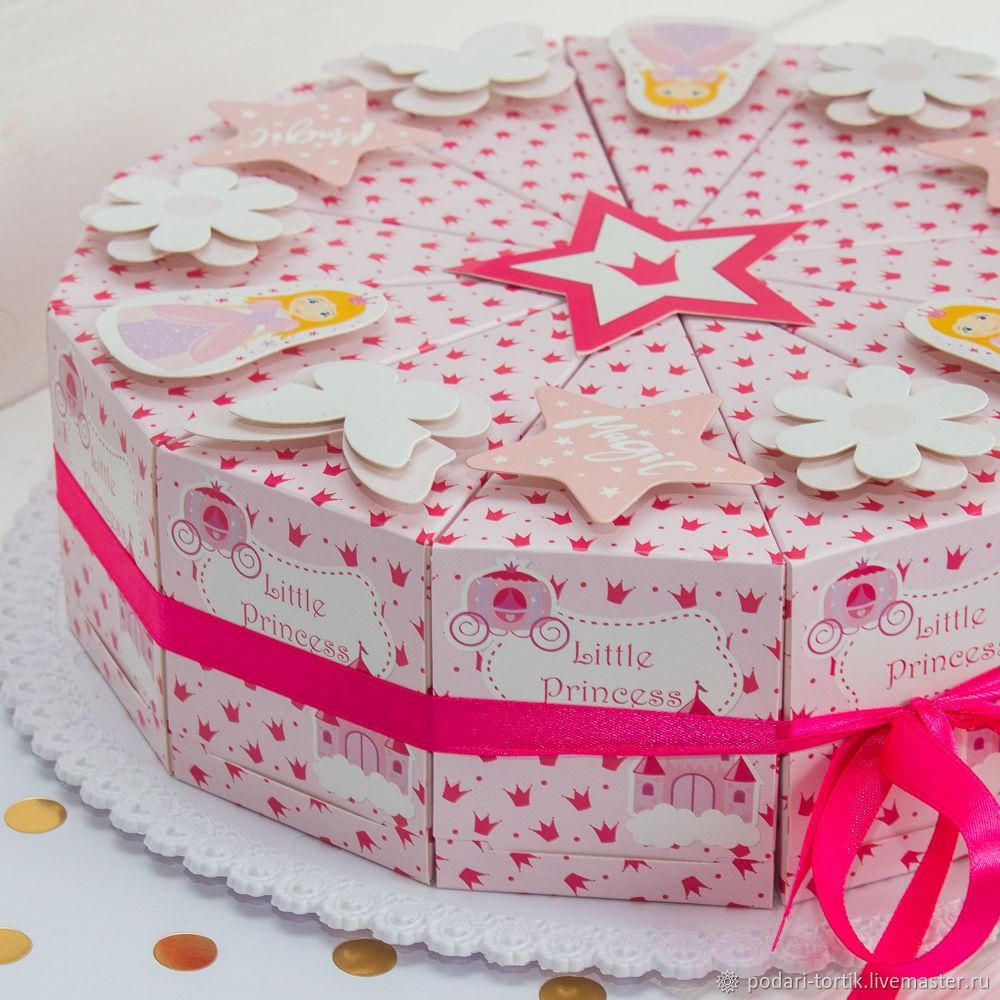 Торт подарок картон своими руками фото 643