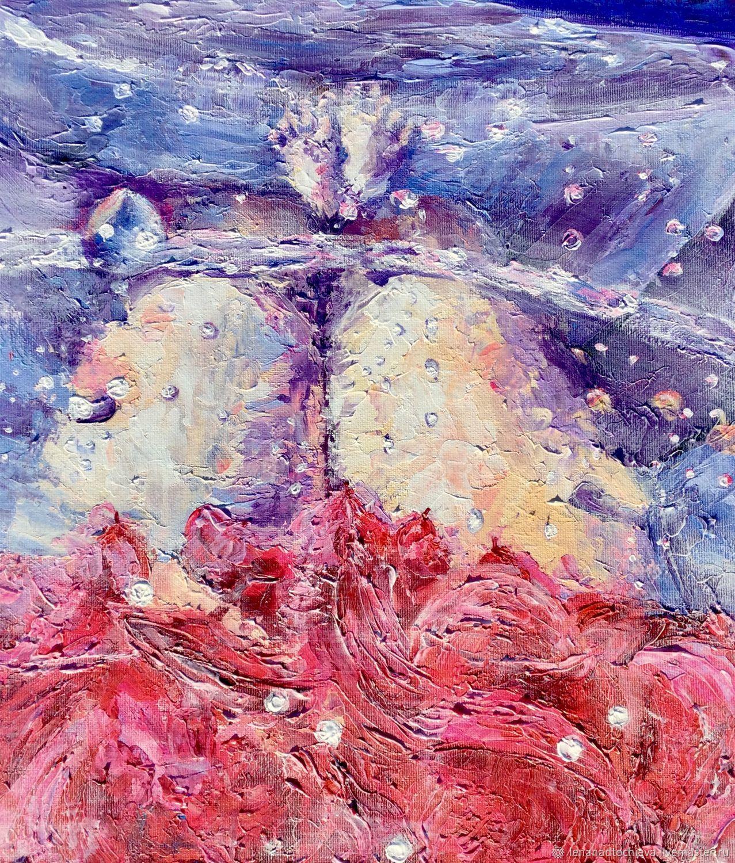 авторский принт «Розовый фламинго», Картины, Ростов-на-Дону,  Фото №1