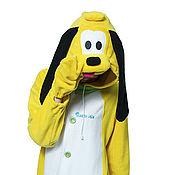 Cosplay costumes handmade. Livemaster - original item Pluto dog Kigurumi Mickey Mouse Disney - Custom Handmade. Handmade.