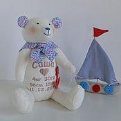 Куклы и игрушки ручной работы. Ярмарка Мастеров - ручная работа мишка_метрики Саша. Handmade.