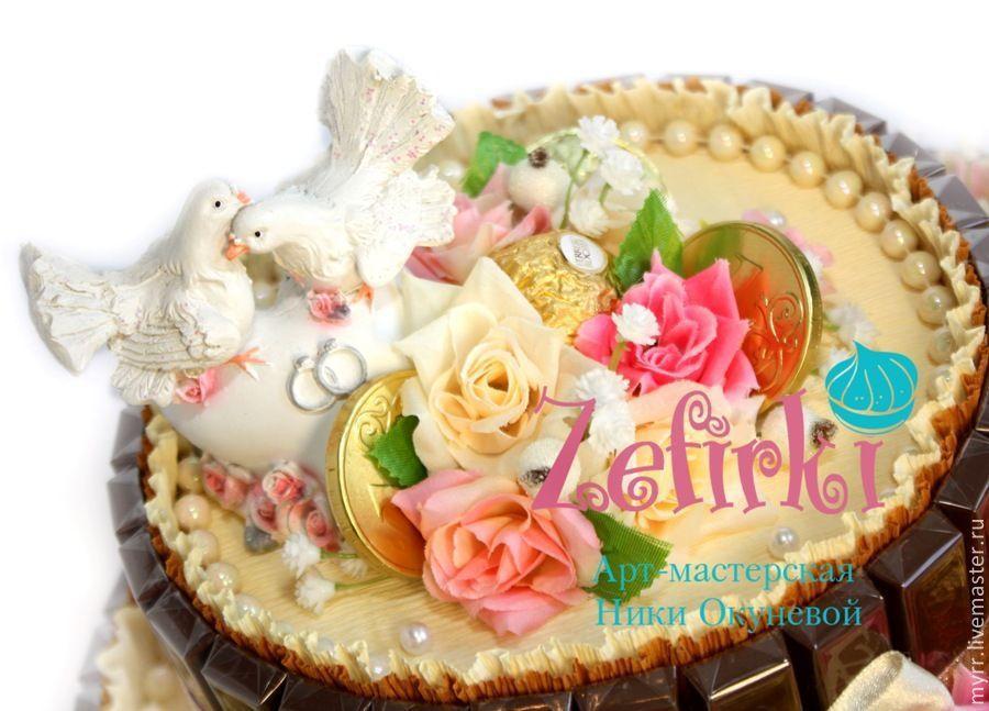 Торт с лилиями кремовый фото 9