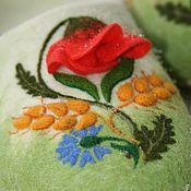 """Обувь ручной работы. Ярмарка Мастеров - ручная работа Тапочки женские """"УКРАИНА"""". Handmade."""