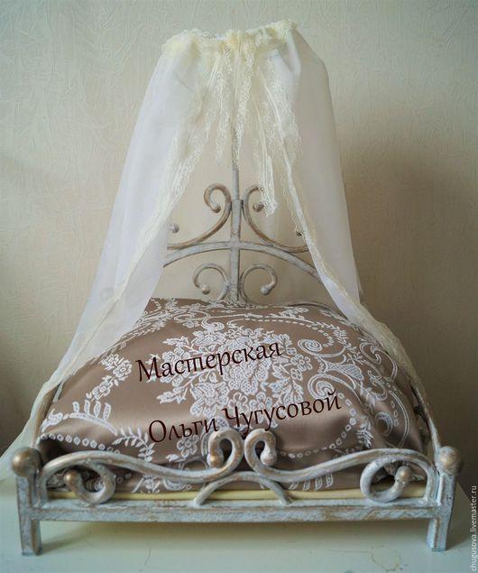 """Аксессуары для собак, ручной работы. Ярмарка Мастеров - ручная работа. Купить Кровать-лежак """"Английская королева"""". Handmade. Кровать, лежанка"""