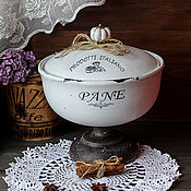 Для дома и интерьера handmade. Livemaster - original item The plate candy dish shabby chic Cloche