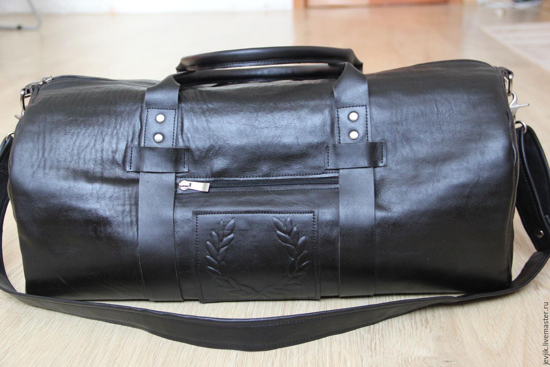 88c5766b Ярмарка Мастеров. Спортивные сумки ручной работы. дорожная сумка кожаная  мужская ЭСТЕТ. roshas_bagleather.