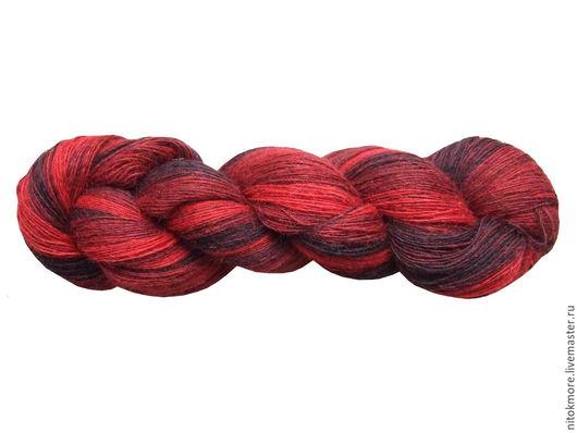 Вязание ручной работы. Ярмарка Мастеров - ручная работа. Купить Тексрена Черное и красное 7/1 и 7/2. Handmade. Черный, красный