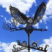 Дача и сад handmade. Livemaster - original item A weathervane on the roof,