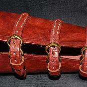 Наручи ручной работы. Ярмарка Мастеров - ручная работа Наручи: Повязки: крага, защита руки, стрельба из лука. Handmade.