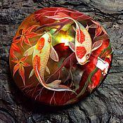 Украшения ручной работы. Ярмарка Мастеров - ручная работа Рубиновый закат. Handmade.
