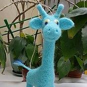 Куклы и игрушки ручной работы. Ярмарка Мастеров - ручная работа Жираф Скруфи. Handmade.