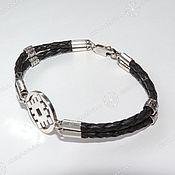 handmade. Livemaster - original item Oberezhny bracelet (symbol to choose from). Handmade.