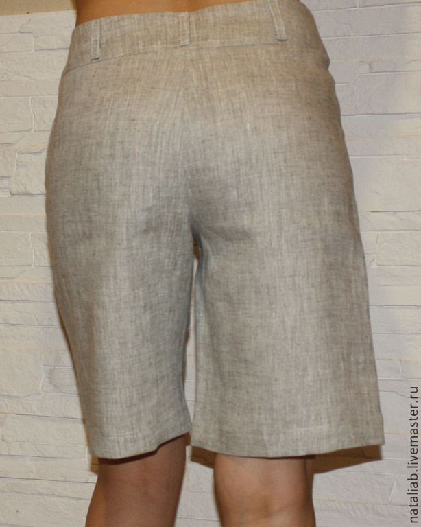 Удлиненные брюки