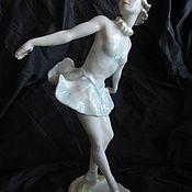 Винтаж handmade. Livemaster - original item Ballerina Statuette ROSENTHAL Gronau Germany Porcelain 1957.. Handmade.