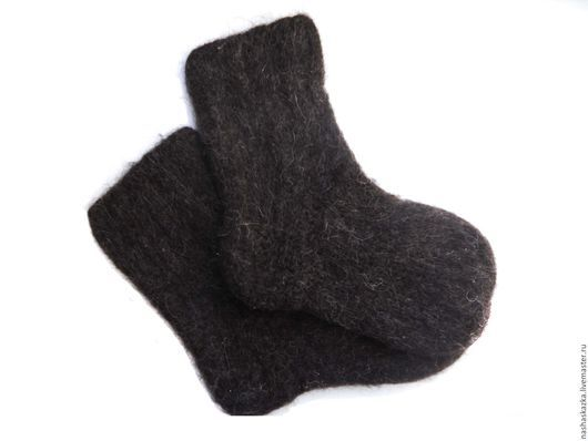 Носки, Чулки ручной работы. Ярмарка Мастеров - ручная работа. Купить Теплые вязанные носки. Handmade. Разноцветный, носки вязаные