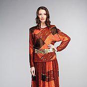 Одежда ручной работы. Ярмарка Мастеров - ручная работа Авторский вязаный костюм 568. Handmade.
