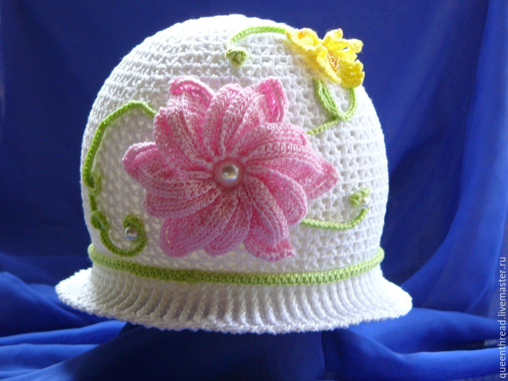 199a8f155ba Hats and scarves handmade. Livemaster - handmade. Buy panama hats for girls.