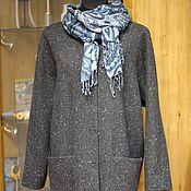 """Одежда ручной работы. Ярмарка Мастеров - ручная работа Непринужденное демисезонное пальто свободного покроя """"Fleck"""". Handmade."""