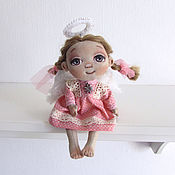 Куклы и игрушки handmade. Livemaster - original item textile doll Little angel. Handmade.