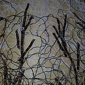 """Для дома и интерьера ручной работы. Ярмарка Мастеров - ручная работа """"Зимний лес"""" скатерть. Handmade."""