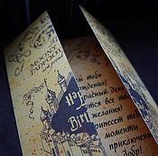 Картины и панно handmade. Livemaster - original item Postcard inscribed