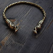 Украшения handmade. Livemaster - original item Bronze bracelet Viking. Handmade.