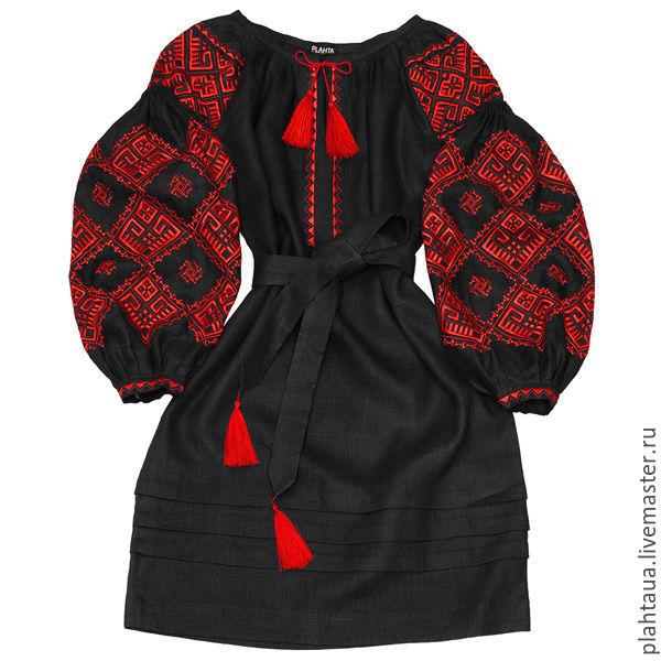 """Платье-вышиванка """"Земная Любовь"""", Dresses, Kiev,  Фото №1"""