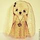 Мишки Тедди ручной работы. Зайка Ника. Irene Gromi (Teddy Art Boutique). Интернет-магазин Ярмарка Мастеров. Зайка