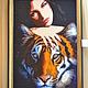 Внимание! фото вышитых работ может отличатся от оригинала в связи с разным воспроизведением цветов у мониторов.