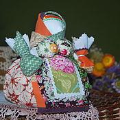 Куклы и игрушки ручной работы. Ярмарка Мастеров - ручная работа кубышка-травница Благоухание. Handmade.