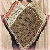 Одежда ручной работы. Ярмарка Мастеров - ручная работа Пончо Indiana. Handmade.
