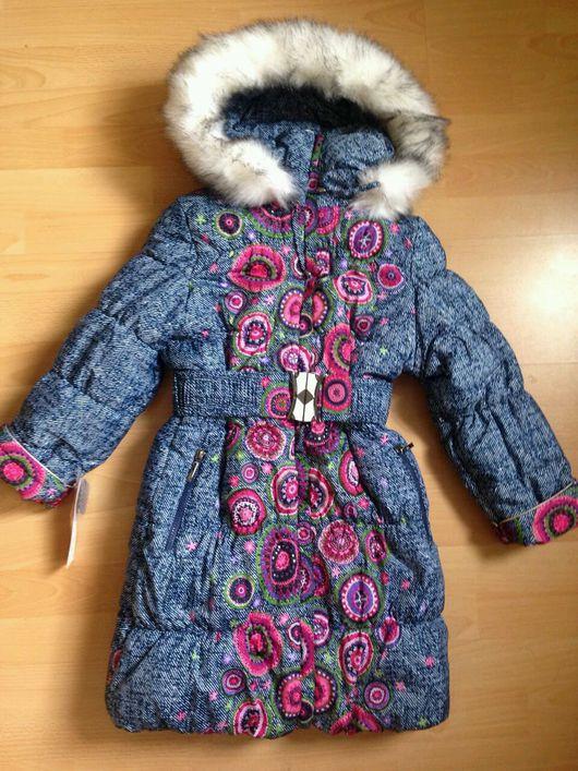 Одежда для девочек, ручной работы. Ярмарка Мастеров - ручная работа. Купить .Зимнее пальто для девочки с капюшоном. Handmade.