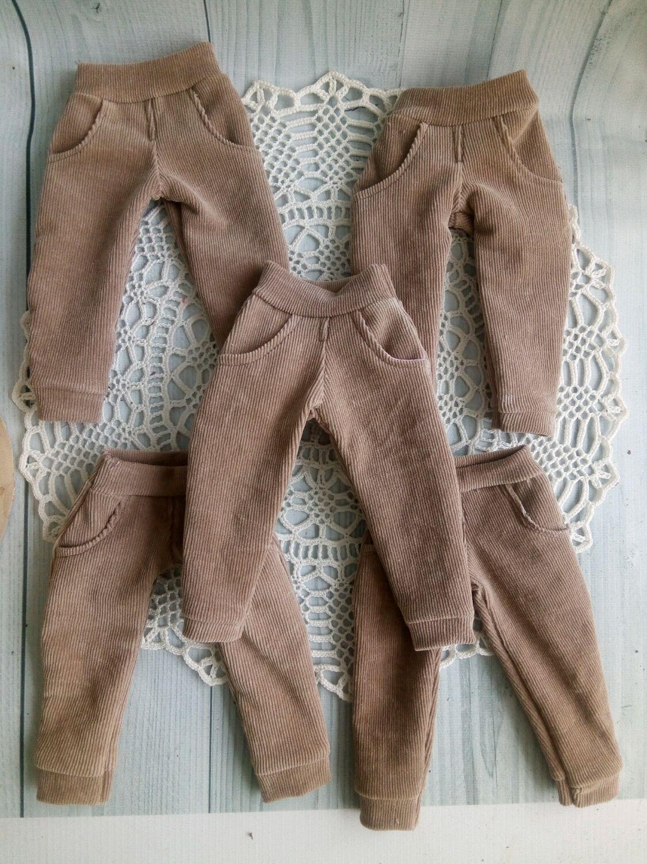 Вольветовые брючки для текстильных кукол ростом 28-30 см, Одежда для кукол, Самара,  Фото №1