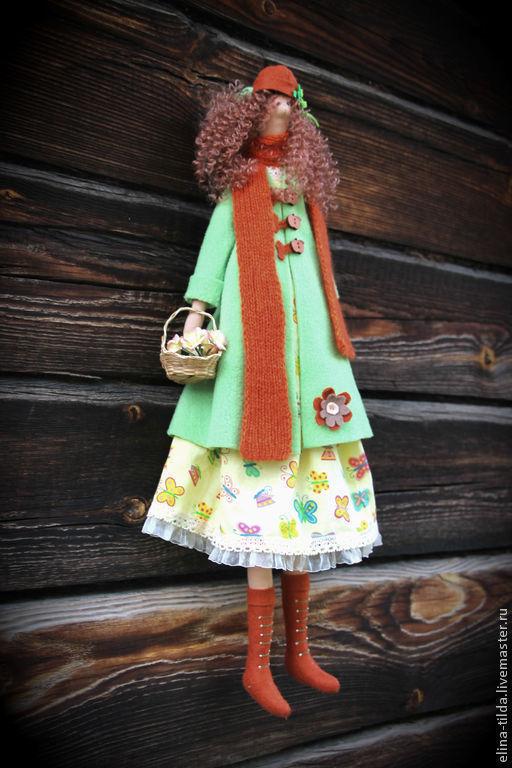 Куклы Тильды ручной работы. Ярмарка Мастеров - ручная работа. Купить Осенняя фея. Handmade. Осенняя фея, интерьерная игрушка