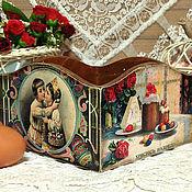 """Подарки к праздникам ручной работы. Ярмарка Мастеров - ручная работа конфетница """"Христосъ Воскресе!"""". Handmade."""
