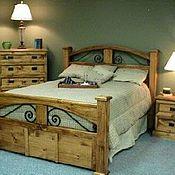 Для дома и интерьера ручной работы. Ярмарка Мастеров - ручная работа Кровать с ящиками. Handmade.
