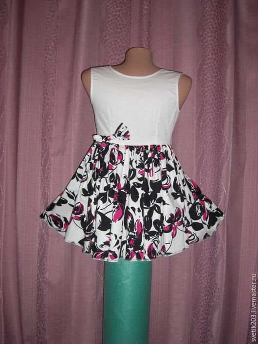 """Одежда для девочек, ручной работы. Ярмарка Мастеров - ручная работа. Купить Детское платье """"Бабетка"""". Handmade. Платье для девочки, бантик"""
