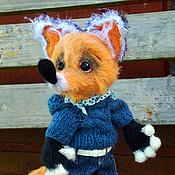 Куклы и игрушки handmade. Livemaster - original item Fox Cookie Monster. Handmade.