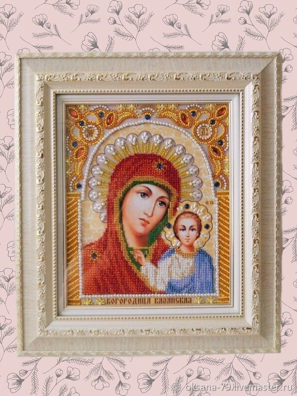 Казанская икона Божией Матери, Иконы, Энгельс, Фото №1