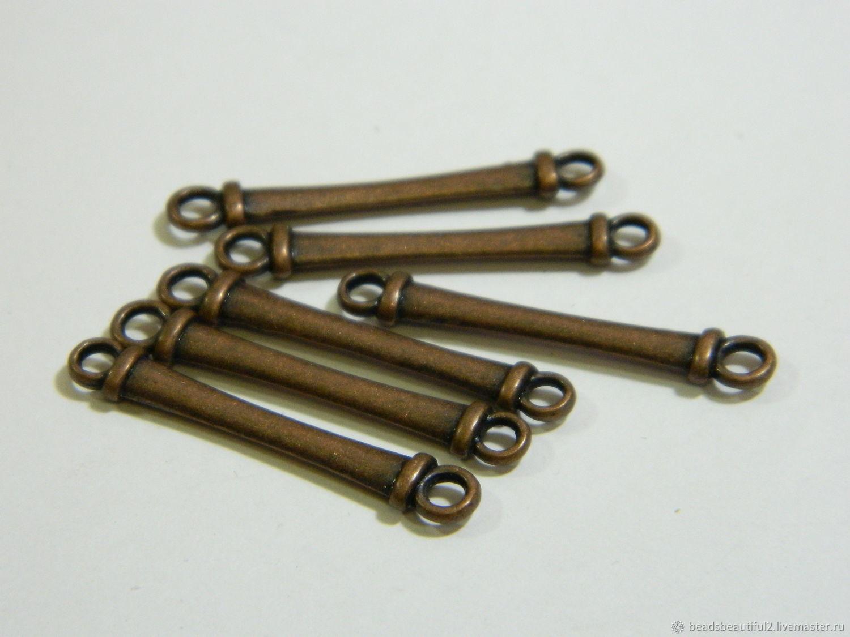 connectors: Antique copper 3 cm piece, Connectors, Saratov,  Фото №1