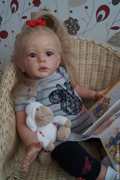 Куклы-младенцы и reborn ручной работы. Ярмарка Мастеров - ручная работа. Купить Анечка. Handmade. Коралловый, генезис