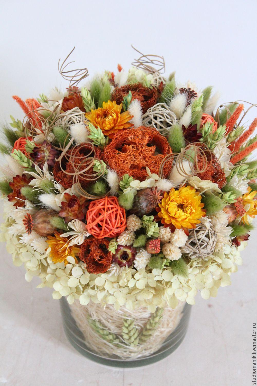 Украшения из эпоксидной смолы и сухоцветов