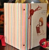 """Канцелярские товары ручной работы. Ярмарка Мастеров - ручная работа Блокнот ручной работы """"Маленькая леди"""". Handmade."""