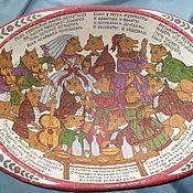 Картины и панно handmade. Livemaster - original item The dish ancient big